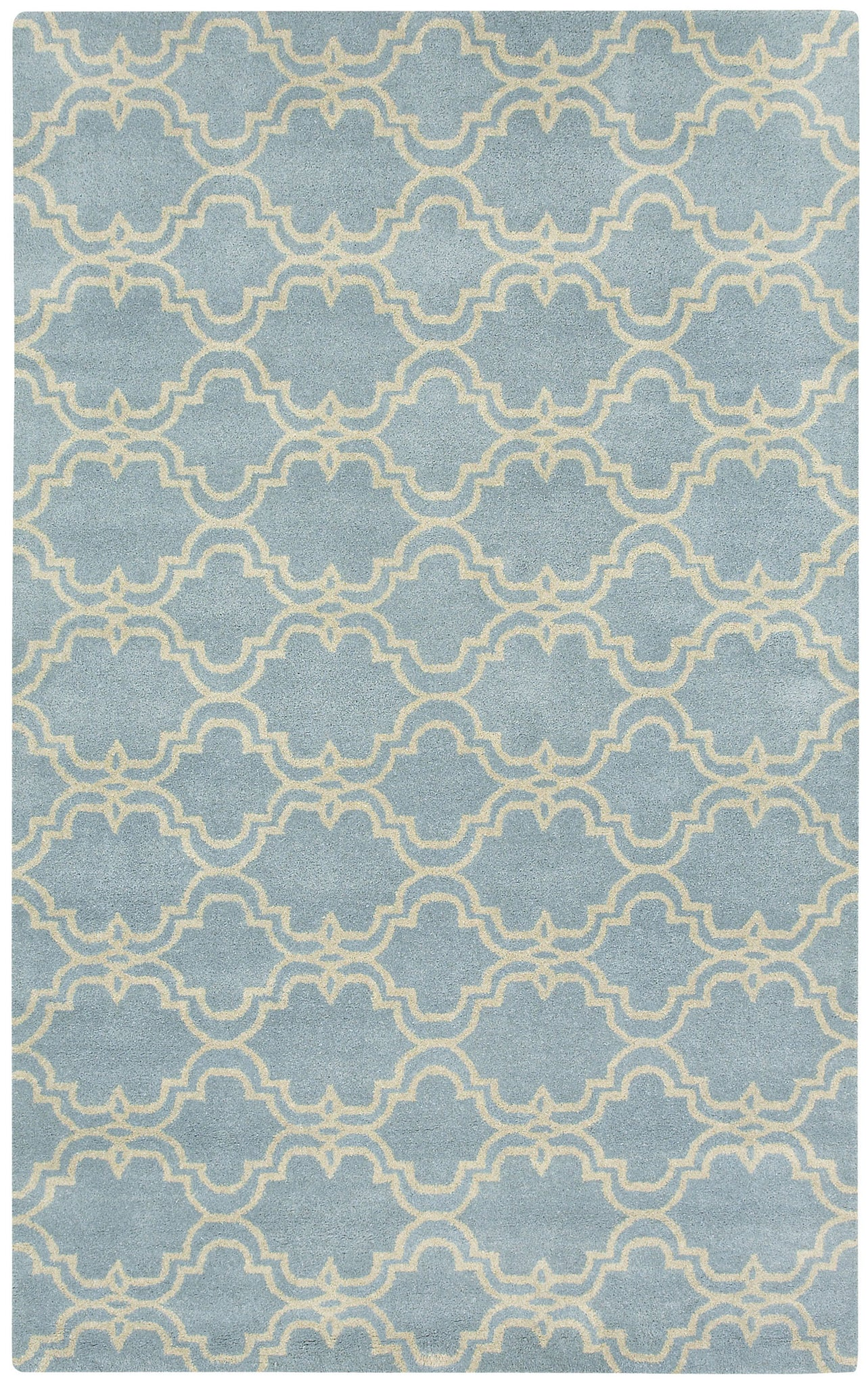 Capel Charisma-Tile 3265 Sky Blue Area Rug main image