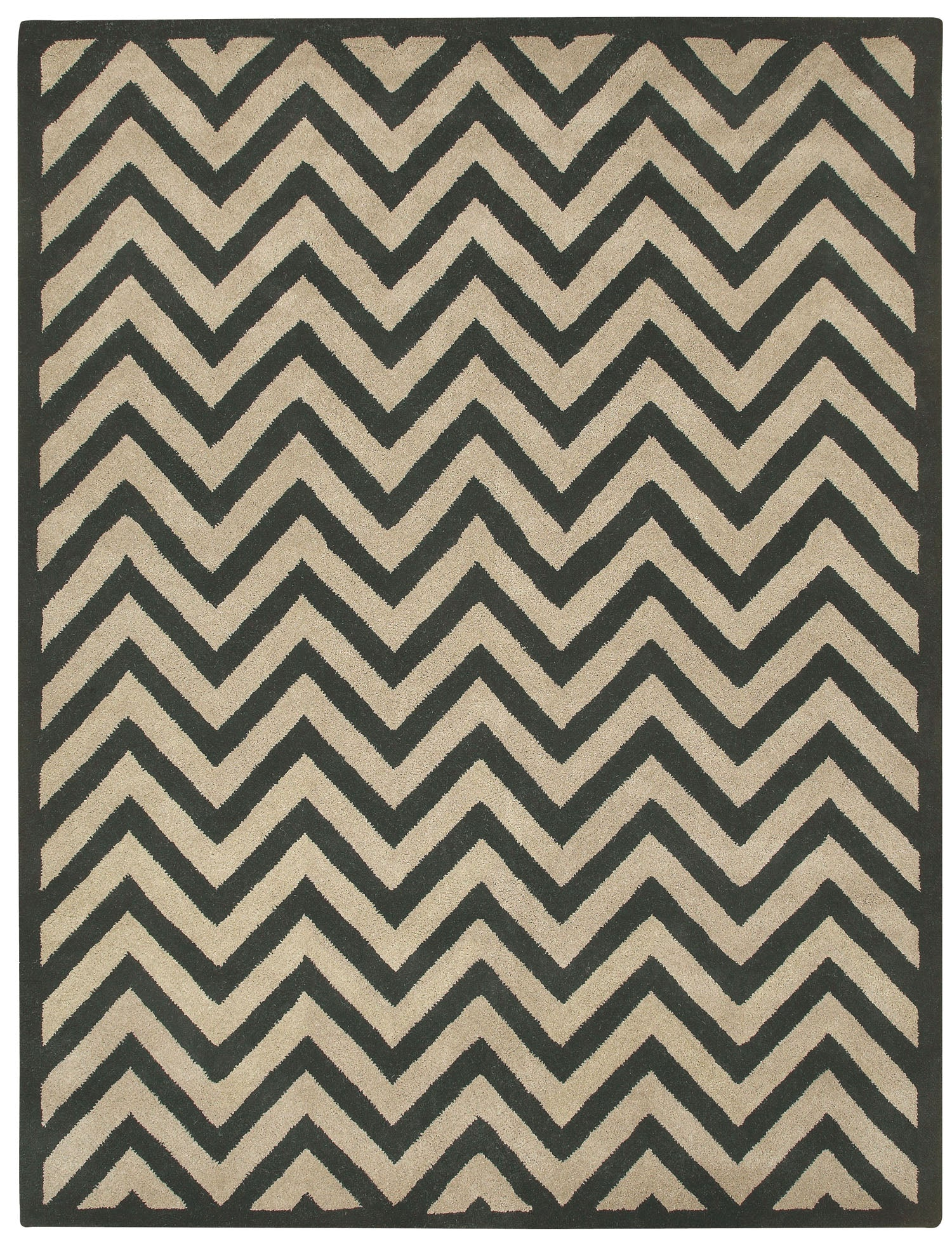 Capel Charisma Chevron 3266 Ebony 360 Area Rug main image