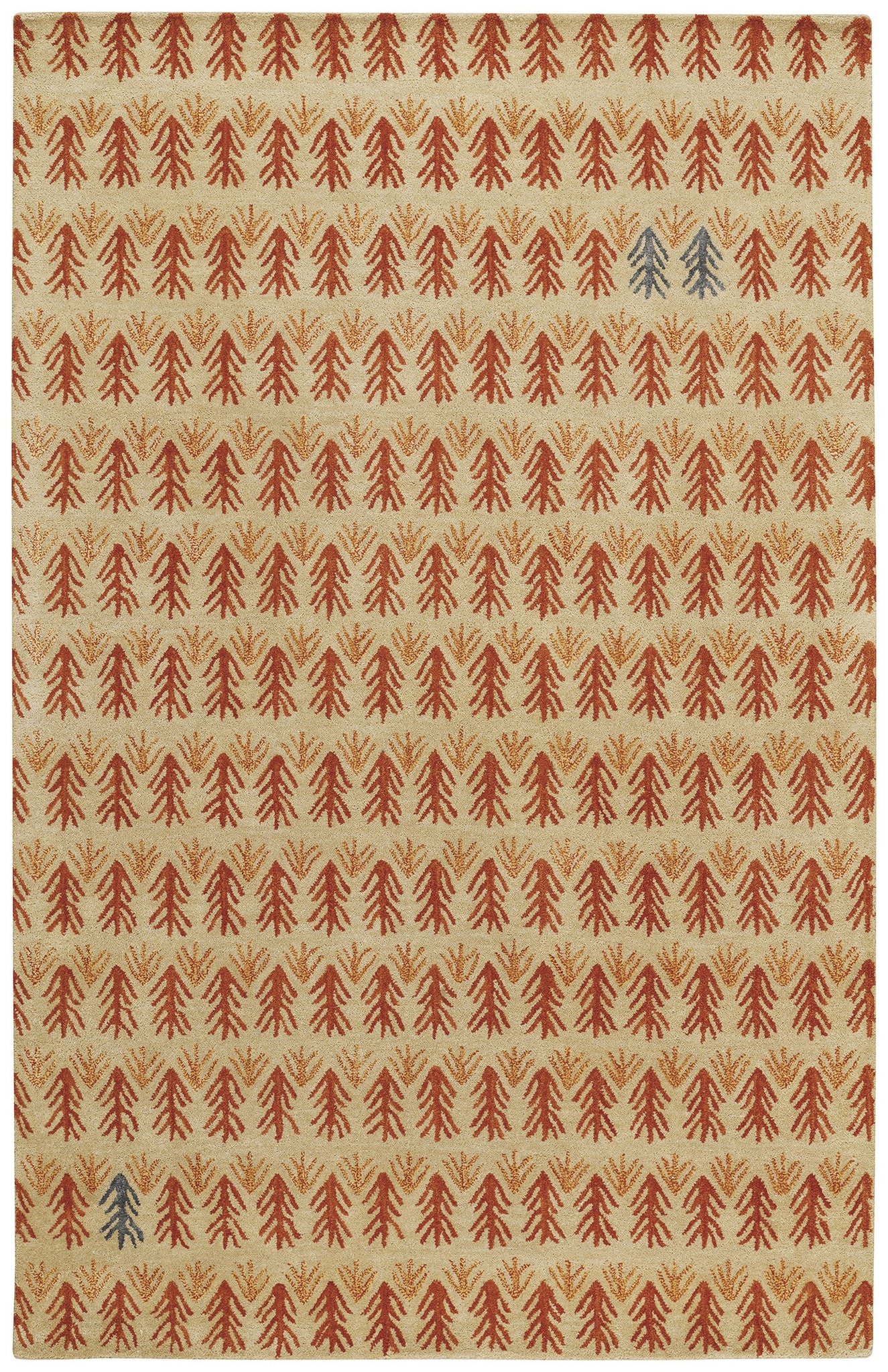 Capel Twigs 3270 Ash 850 Area Rug by Genevieve Gorder main image