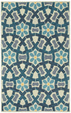 Capel Stepping Stone 3293 Sand Blue 740 Area Rug main image