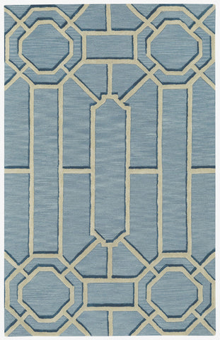 Capel Ironworks 3306 Pale Blue 440 Area Rug main image