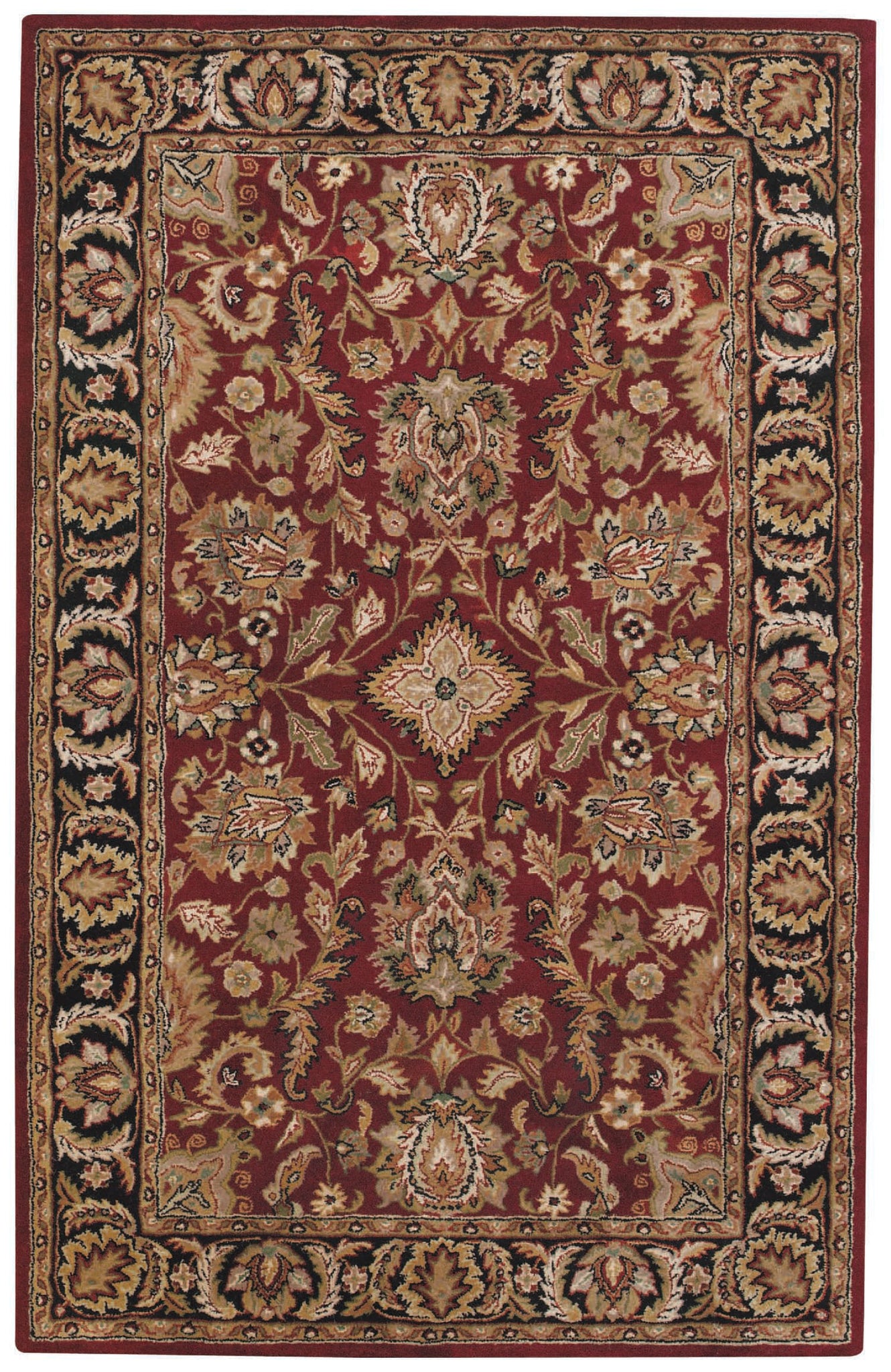 Capel Piedmont Fereghan 3347 Red Garnet 530 Area Rug main image