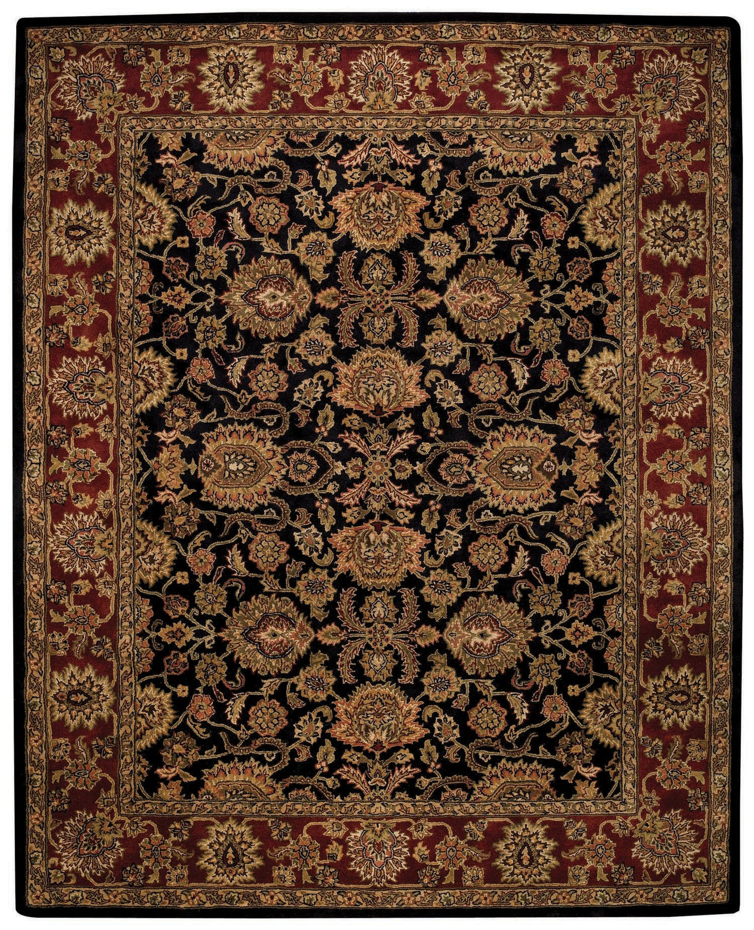 Capel Piedmont Persian 3366 Ebony 350 Area Rug main image