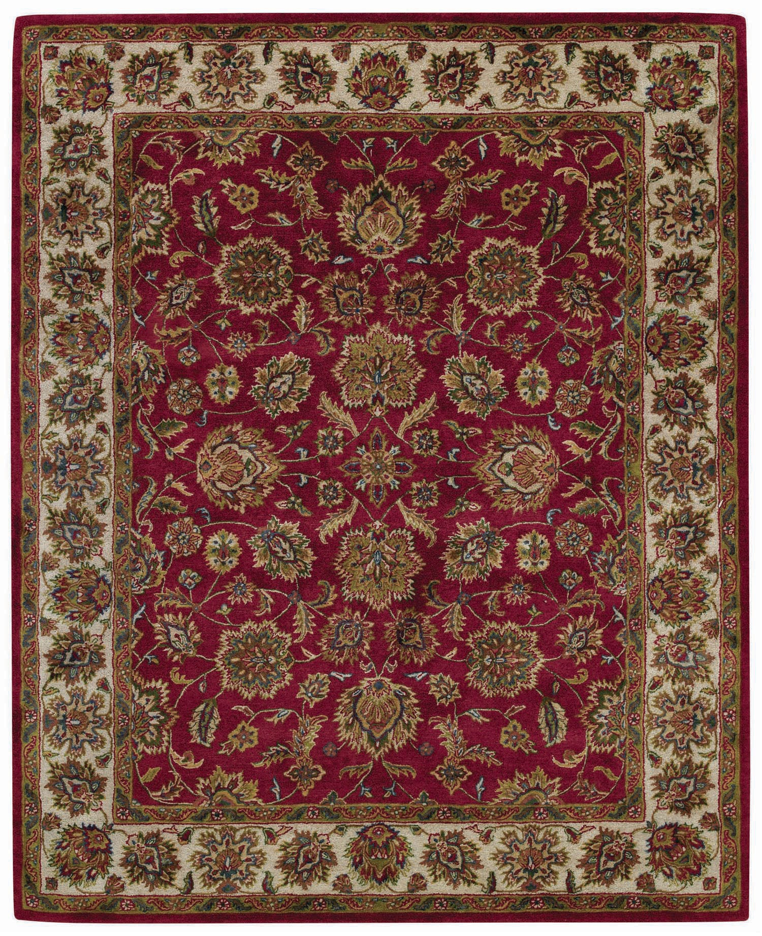 Capel Piedmont Persian 3366 Cinnabar/Ivory 565 Area Rug main image