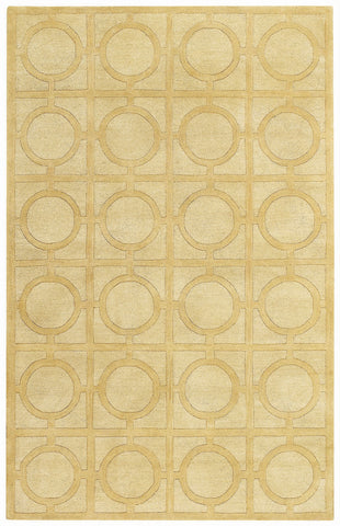 Capel Morgan Hill Rings 3399 Yellow 150 Area Rug by Biltmore main image
