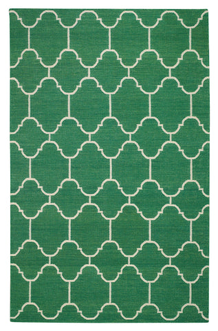 Capel Serpentine 3623 Dark Green 250 Area Rug by Genevieve Gorder main image