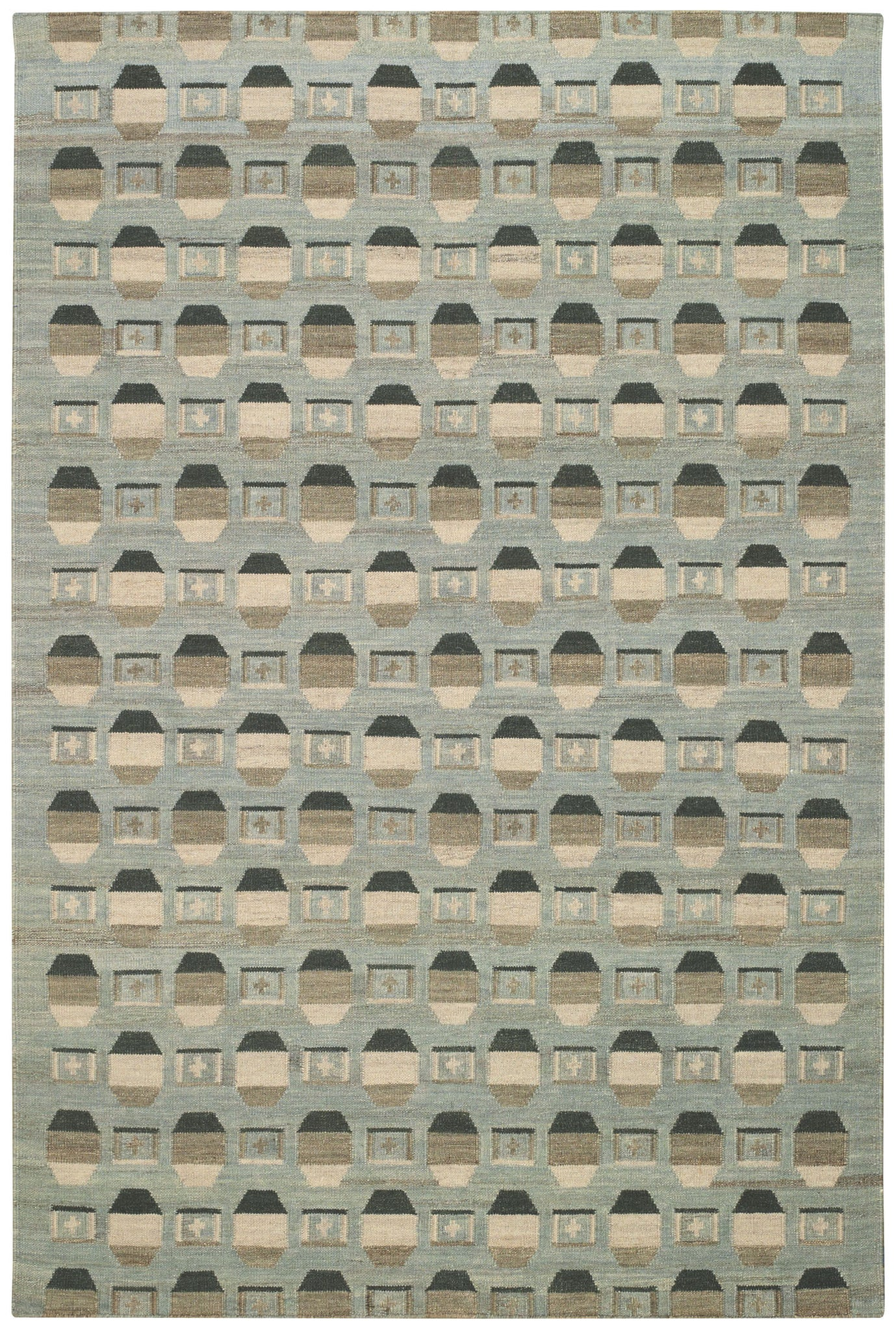Capel Davenport 3627 Green 200 Area Rug by Williamsburg main image
