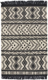 Capel Abstract 3642 Black 350 Area Rug by Genevieve Gorder main image