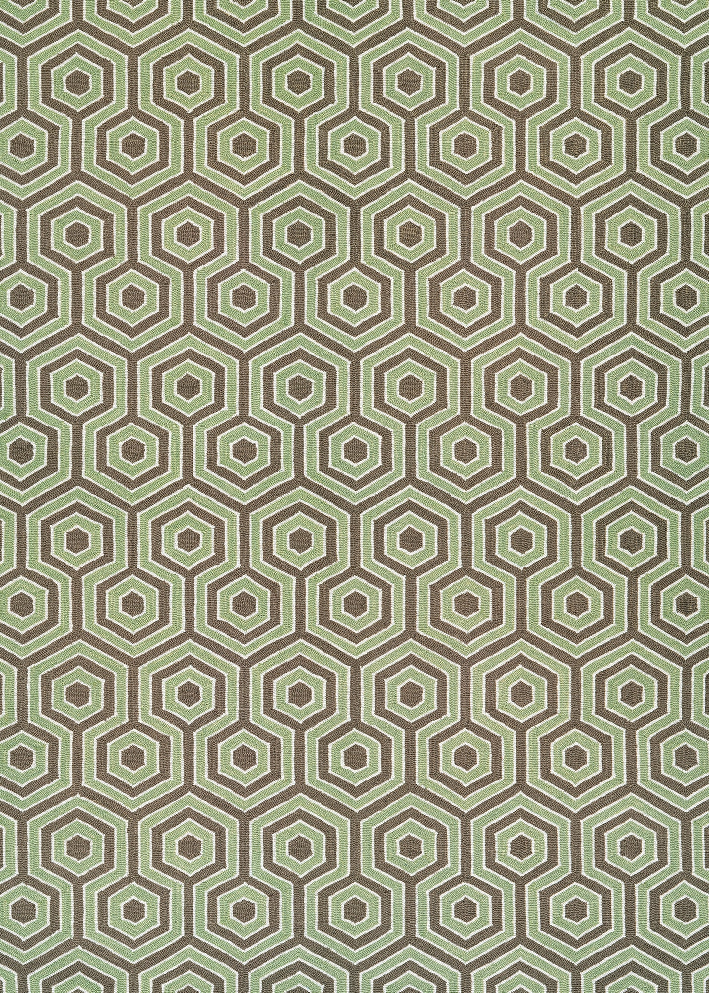 Couristan Bowery Ainslie Brown Green Area Rug Incredible