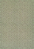 Couristan Bowery Ainslie Brown/Green Area Rug