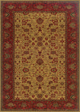Couristan Everest Tabriz Harvest Gold Machine Loomed Area Rug
