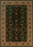 Couristan Everest Tabriz Midnight Machine Loomed Area Rug
