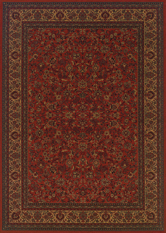Couristan Everest Isfahan Crimson Area Rug main image