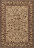 Couristan Anatolia Medallion Ispaghan Cream Area Rug