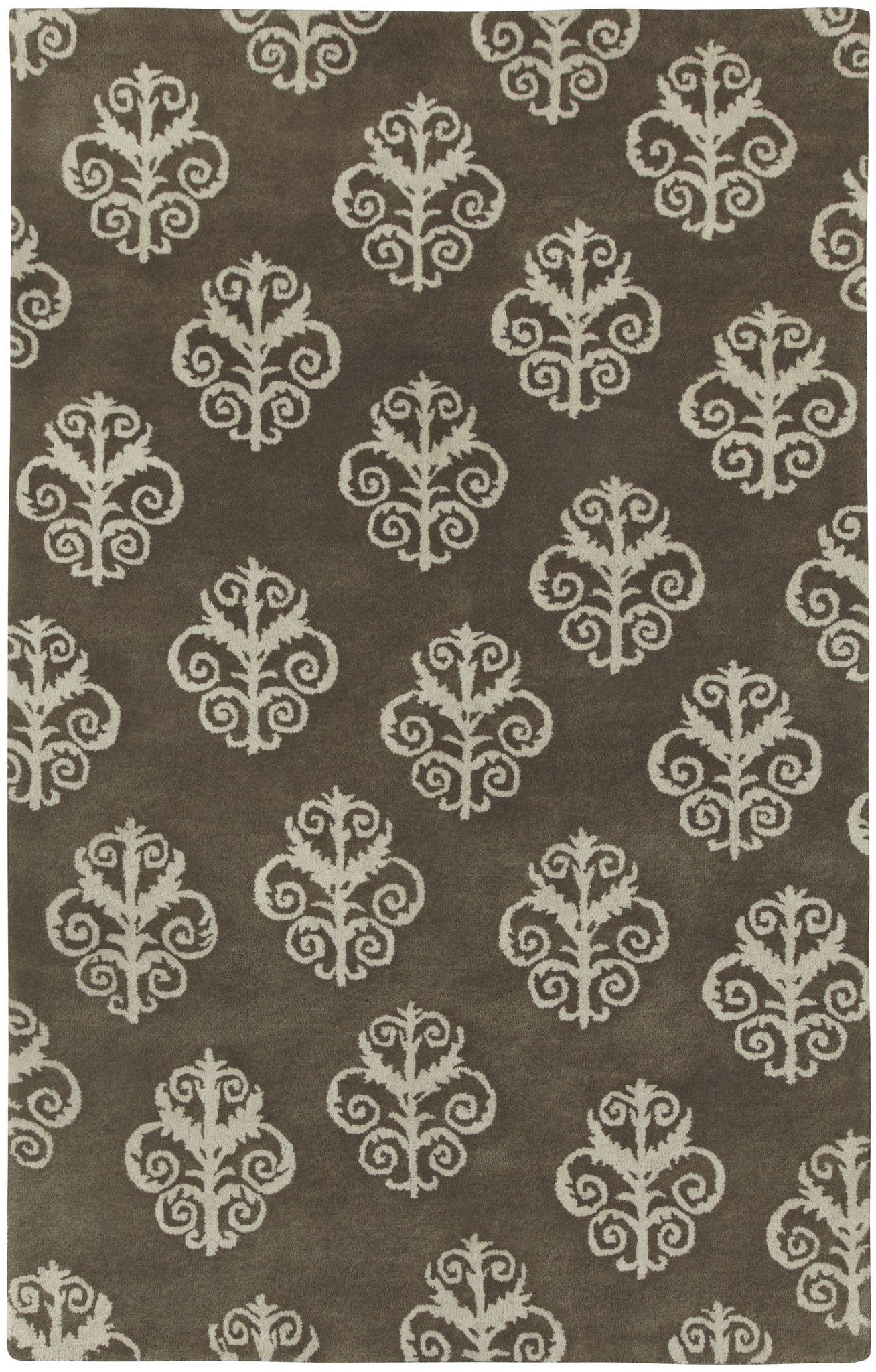 Capel Cornice 3871 Brown 700 Area Rug by Biltmore main image
