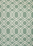Couristan Covington Ariatta Sea Mist Area Rug