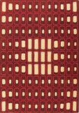 Rug Market America CO Mood Brown Brown/Orange/Ivory Area main image