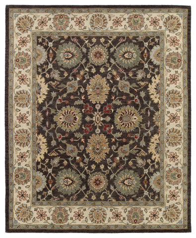 Kaleen Solomon Elijah-51 Brown Area Rug main image