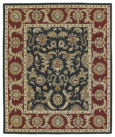 Kaleen Solomon King David-52 Graphite Area Rug main image