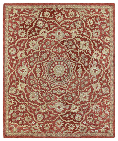 Kaleen Solomon Nehemiah-55 Red Area Rug main image