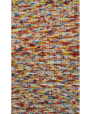 Rug Market America CO Braided Bunch Red Multi Area 2' 8'' X 4' 8''
