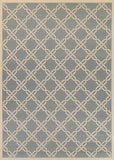 Couristan Five Seasons Sun Island Slate/Cream Area Rug