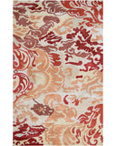 Rug Market America CO Niigata Red Red/Green/Copper Area 5' 0'' X 8' 0''