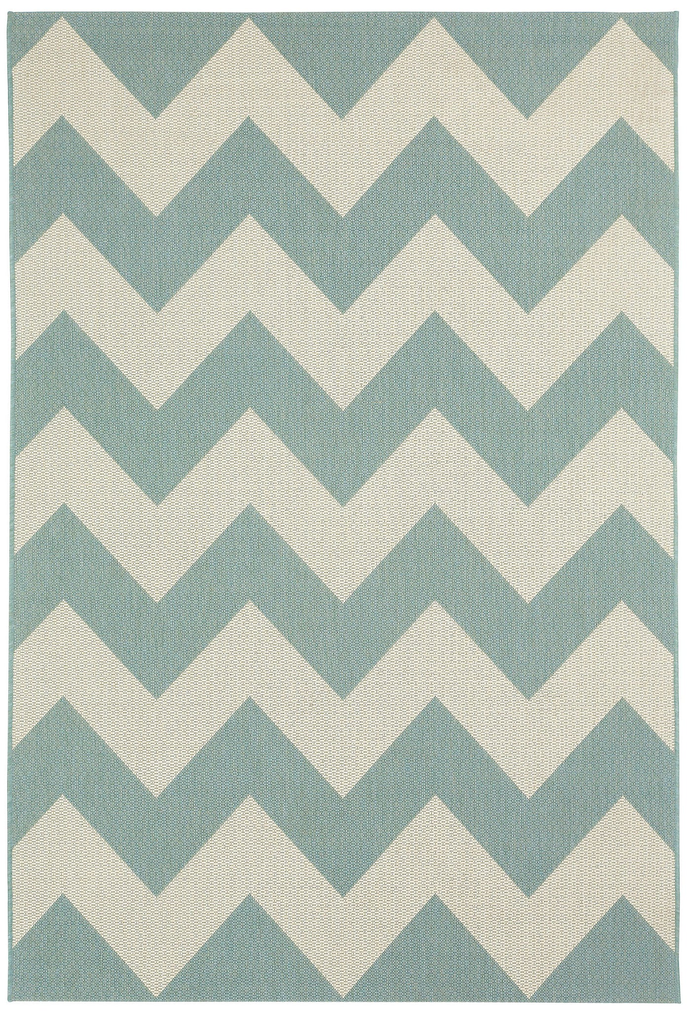Capel Elsinore Chevron 4726 Resort Blue 420 Area Rug main image