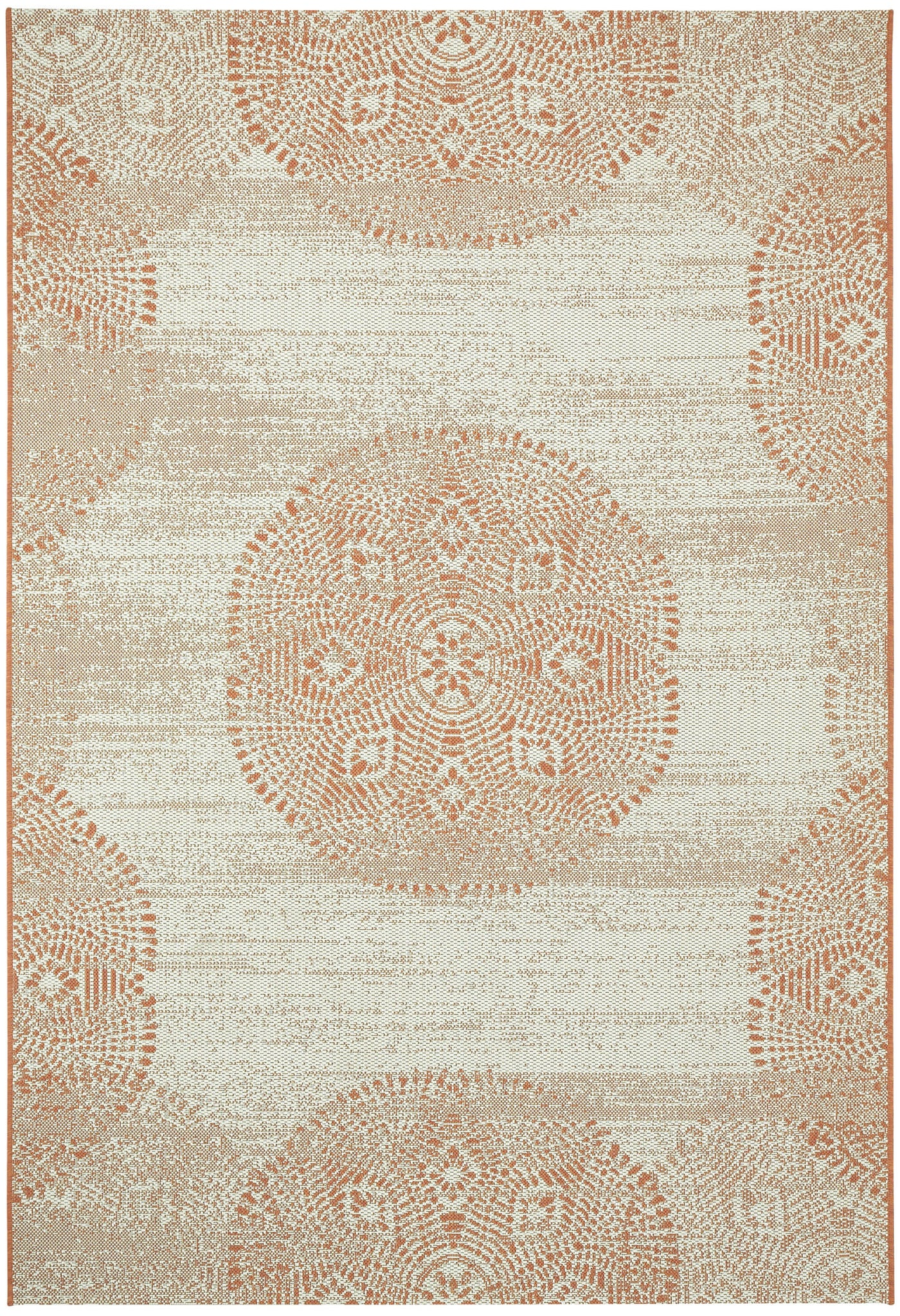 Capel Elsinore Mandala 4732 Cinnamon 825 Area Rug by Genevieve Gorder main image