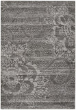 Capel Channel 4742 Dark Grey 375 Area Rug main image
