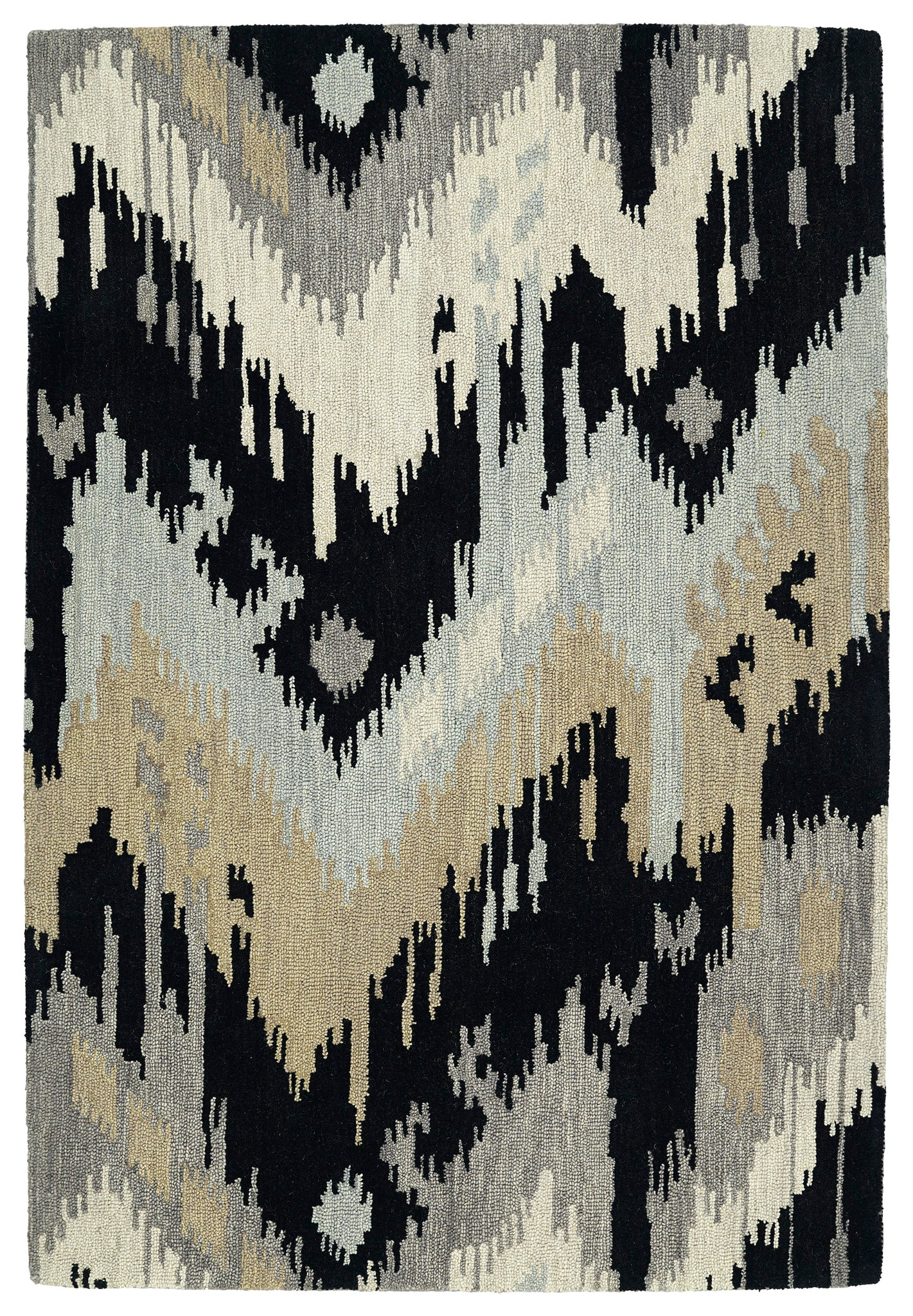 Kaleen Casual 5054-02 Black Area Rug main image