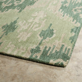 Kaleen Casual 5055-104 Seafoam Area Rug Close-up Shot
