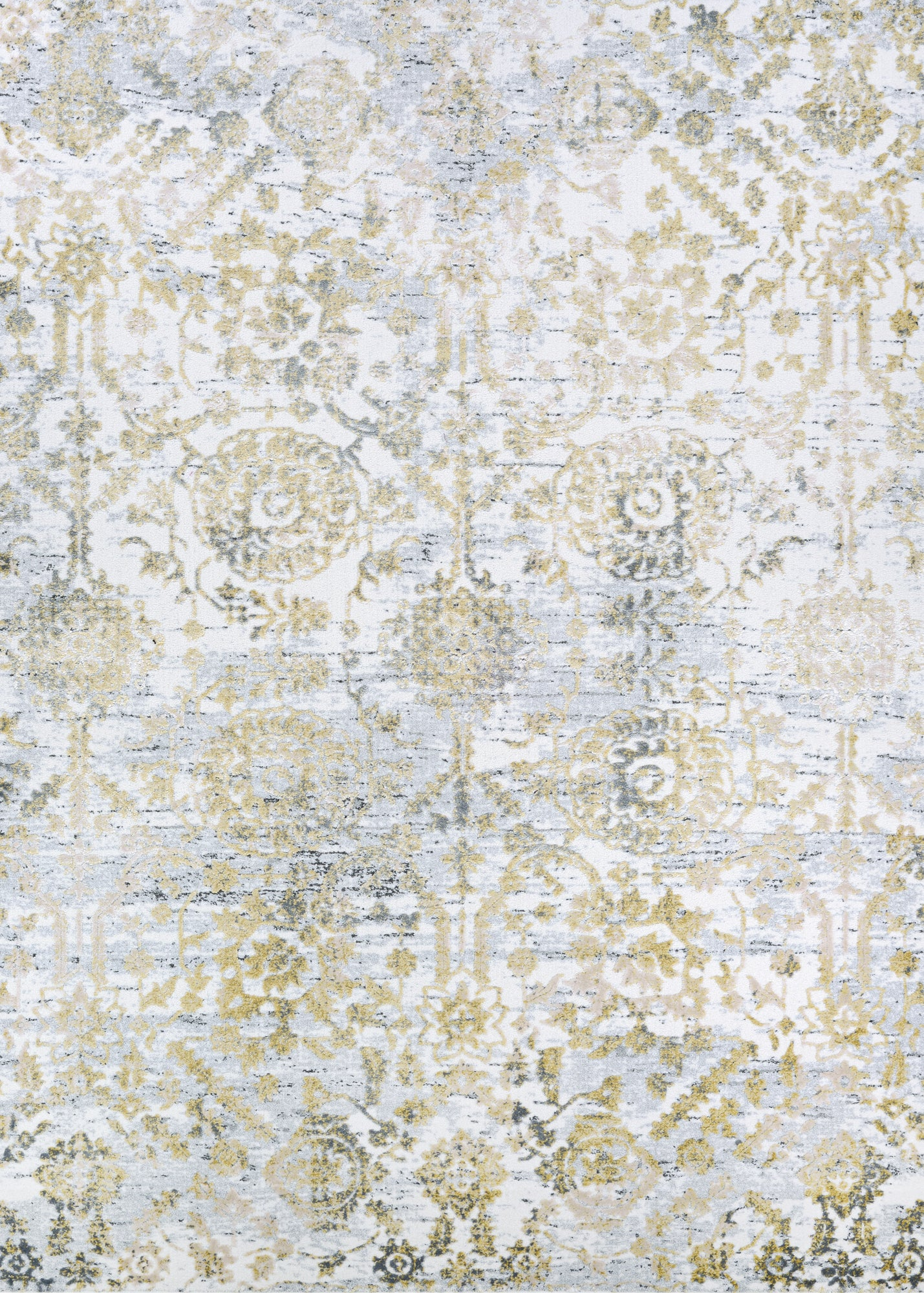 Couristan Calinda Marlowe Gold/Silver/Ivry Area Rug main image