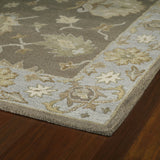 Kaleen Brooklyn Delaney-03 Mocha Hand Tufted Area Rug