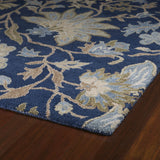 Kaleen Brooklyn Brody-04 Blue Hand Tufted Area Rug
