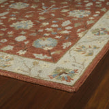 Kaleen Brooklyn Keaton-05 Brick Hand Tufted Area Rug