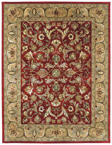Kaleen Mystic William-01 Red Area Rug main image