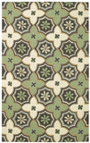 Capel Intrique Medallion 6053 Green 240 Area Rug main image