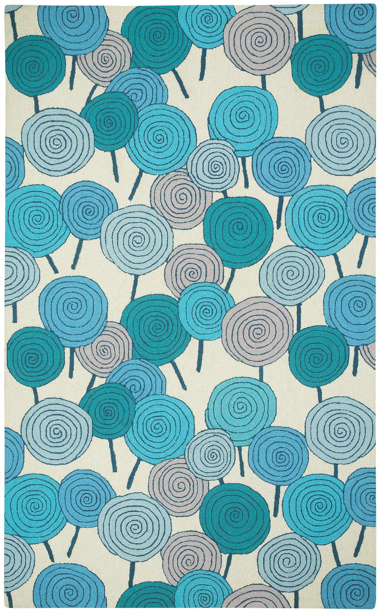 Capel Stick Candy 6064 Azure Kiwi 420 Area Rug by Hable Construction main image
