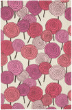 Capel Stick Candy 6064 Blush Multi 955 Area Rug by Hable Construction main image