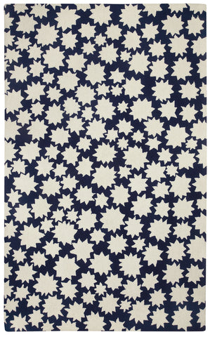 Capel Heavenly 6066 Dark Blue 475 Area Rug by Hable Construction main image