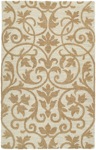 Kaleen Carriage Trellis-01 Brown Area Rug main image