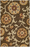 Kaleen Carriage Cornish-02 Brown Area Rug main image