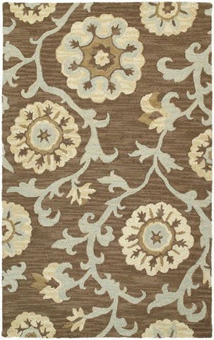 Kaleen Carriage Cornish-02 Graphite Area Rug main image