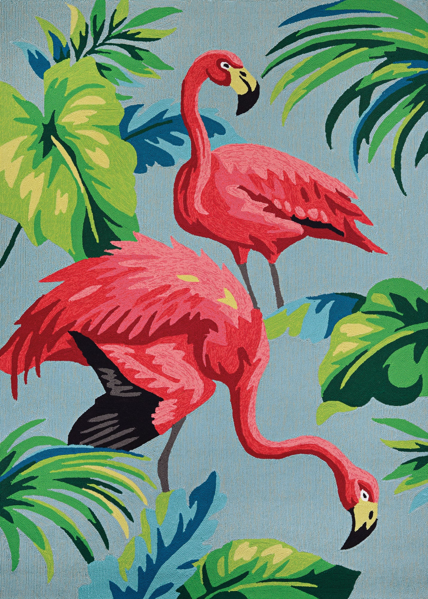 Couristan Covington Flamingos Multi Area Rug main image