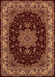 Couristan Himalaya Annapurna Antique Creme/Persian Red Area Rug