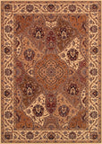 Couristan Himalaya Samsara Antique Cream/Multi Area Rug