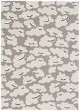 Capel Sky Puffy 6300 Silver 336 Area Rug by Hable Construction main image