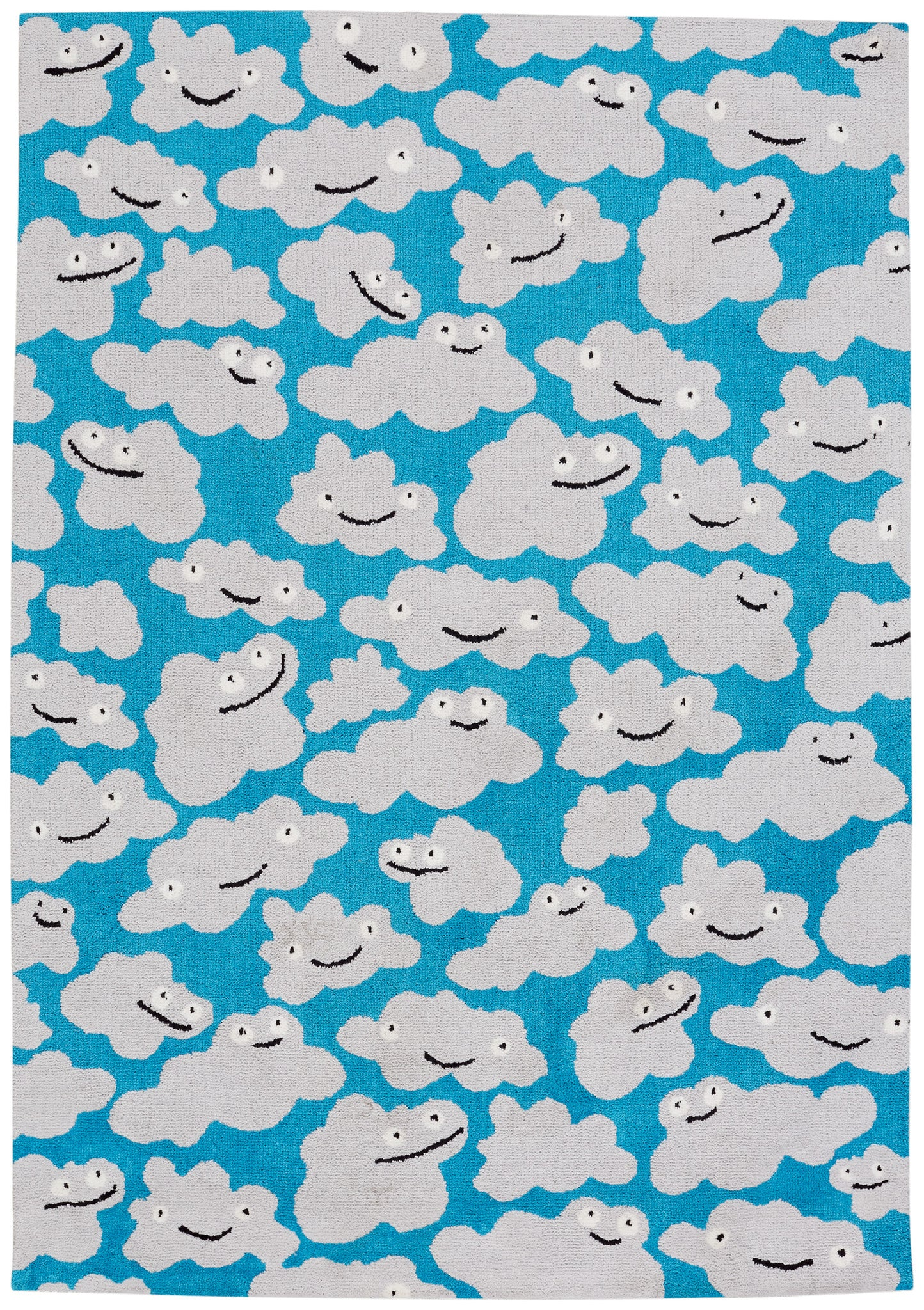 Capel Sky Puffy 6300 Azure 434 Area Rug by Hable Construction main image