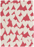 Capel Confectionary Valentine 6302 Azalea Buff 566 Area Rug by Hable Construction main image